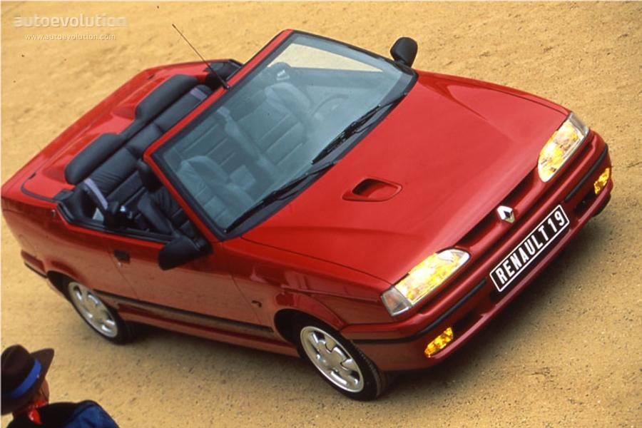 Renault 19 I 1988 - 1992 Cabriolet #3