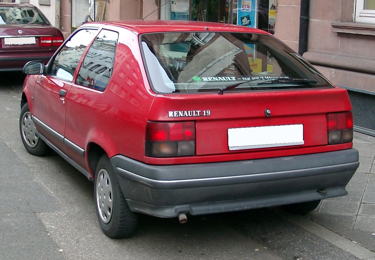Renault 19 II 1992 - 2002 Hatchback 3 door #4