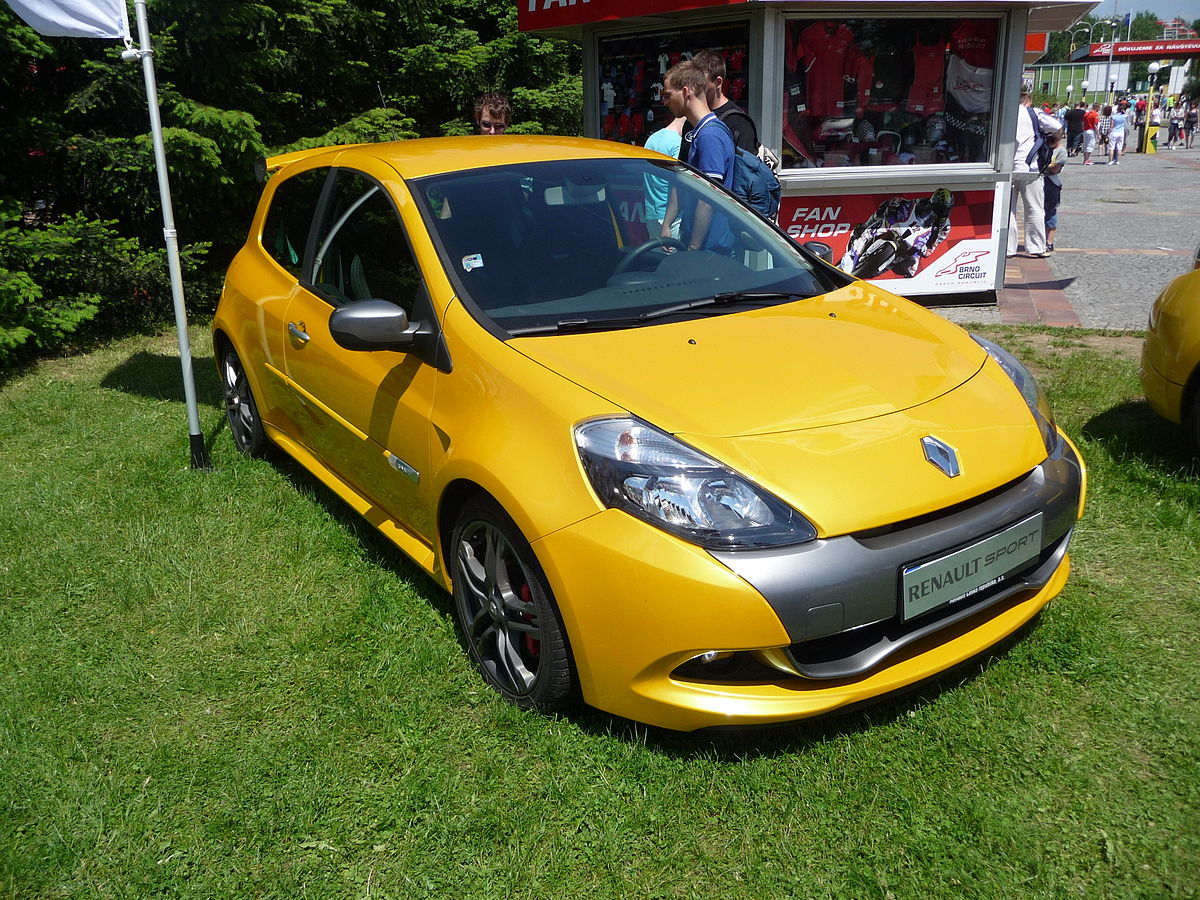 Renault Clio RS III Restyling 2009 - 2012 Hatchback 3 door #8