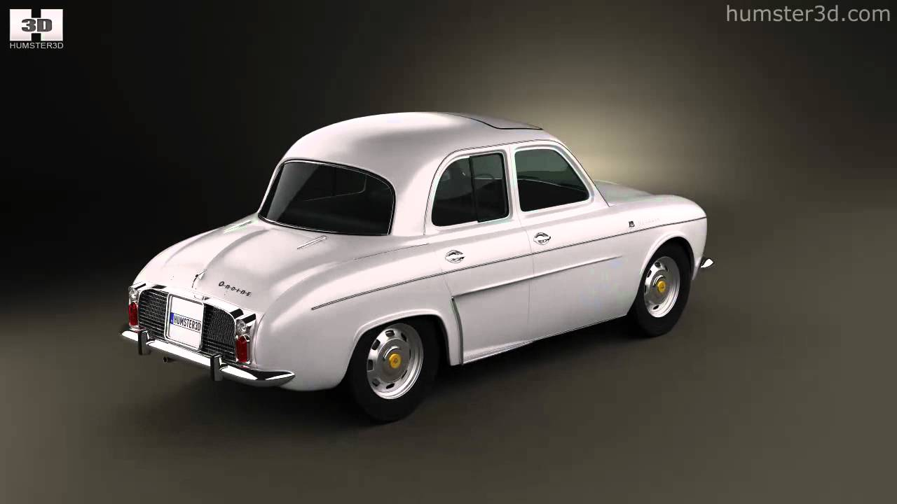 Renault Dauphine 1956 - 1967 Sedan #1