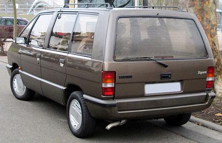 Renault Espace I 1984 - 1991 Minivan #3