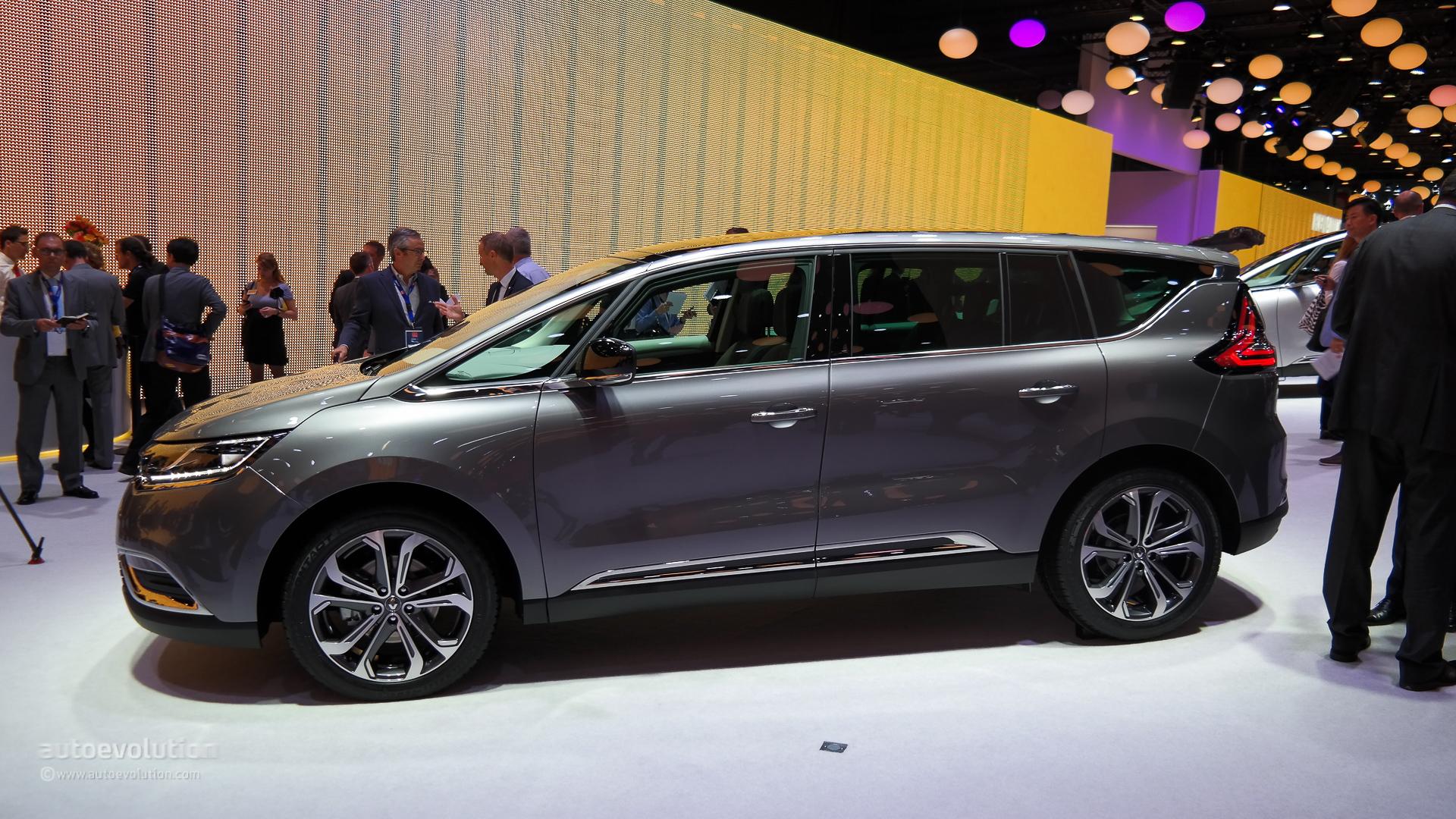 Renault Espace V 2015 - now Minivan #4