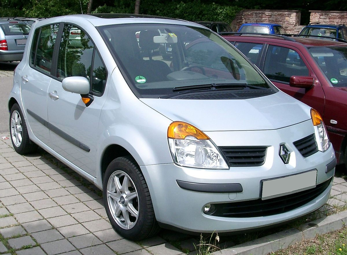 Renault Modus I 2004 - 2007 Compact MPV #8