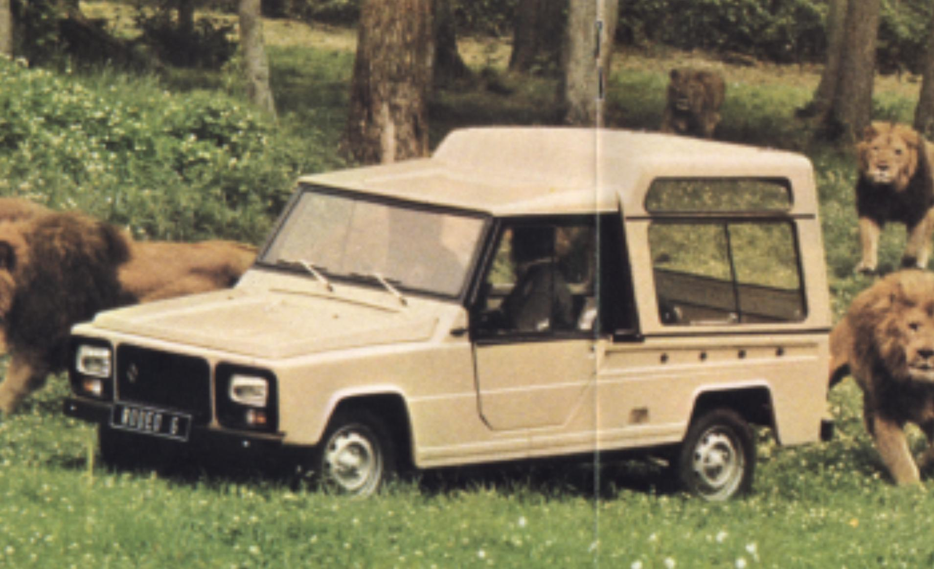 Renault Rodeo I 1971 - 1981 SUV #1