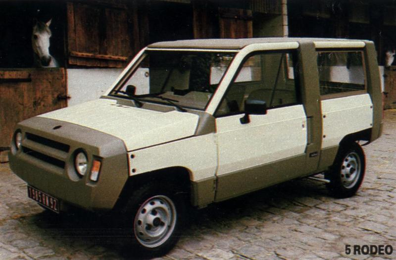Renault Rodeo II 1981 - 1987 SUV #1