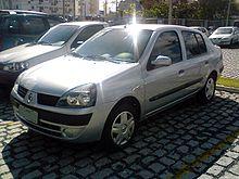 Renault Symbol I Restyling 2002 - 2006 Sedan #8