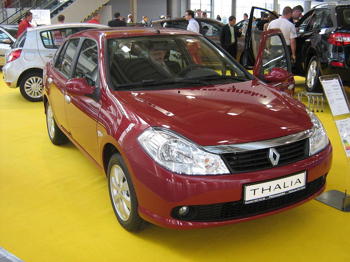Renault Symbol I Restyling 2002 - 2006 Sedan #1