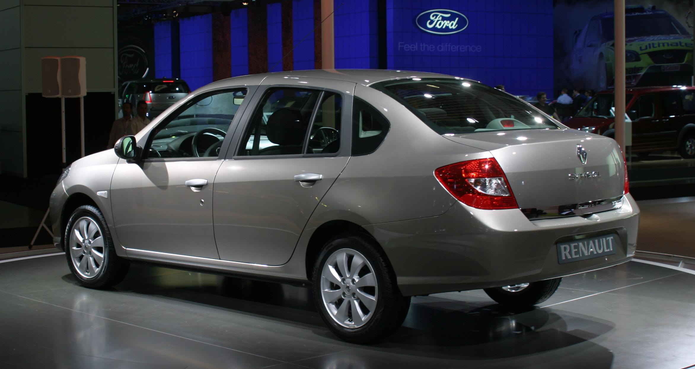 Renault Symbol ll 2008 - 2012 Sedan #4