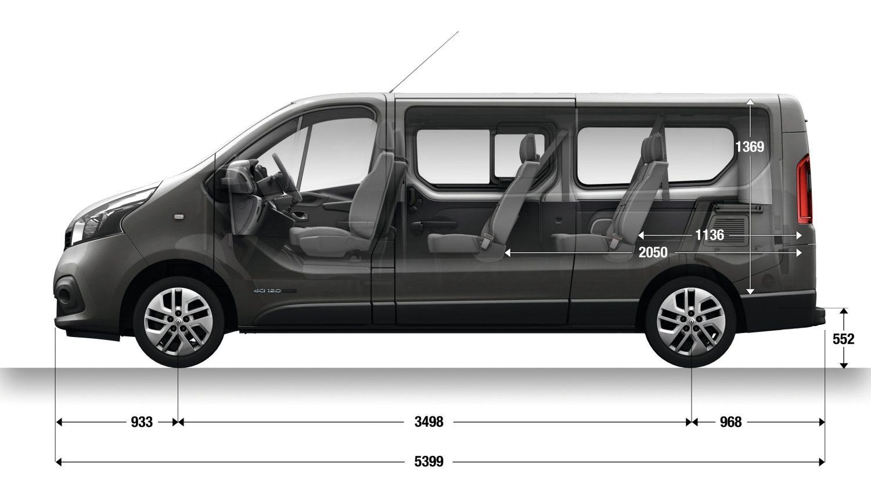 Renault Trafic III 2014 - now Minivan #8