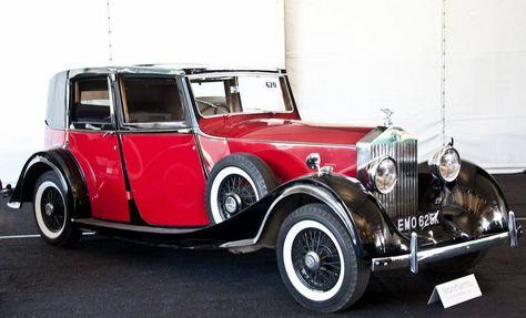 Rolls-Royce 20ት I 1929 - 1936 Cabriolet #2