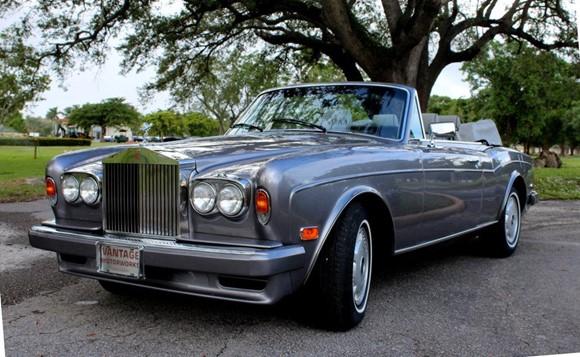 Rolls-Royce Corniche I - IV 1971 - 1995 Cabriolet #1