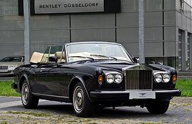 Rolls-Royce Corniche I - IV 1971 - 1995 Cabriolet #6