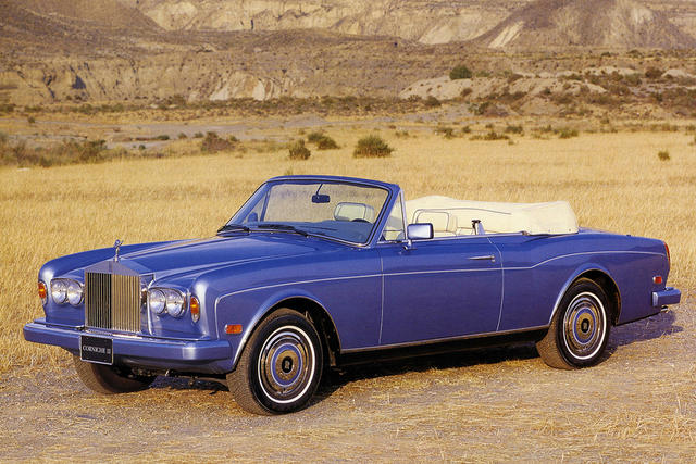 Rolls-Royce Corniche I - IV 1971 - 1995 Cabriolet #5