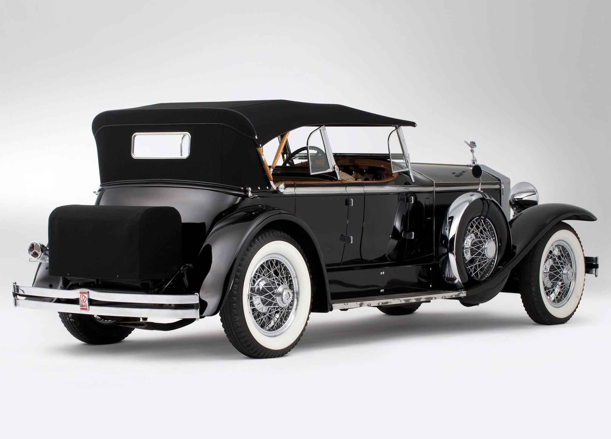 Rolls-Royce Phantom I 1925 - 1931 Sedan #4