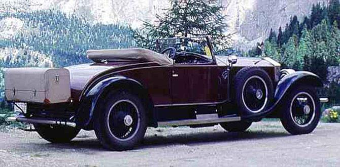 Rolls-Royce Phantom I 1925 - 1931 Sedan #7