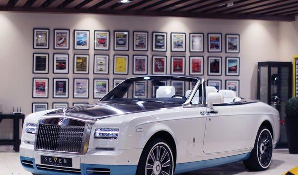 Rolls-Royce Phantom VII Restyling (Series II) 2012 - now Cabriolet #7