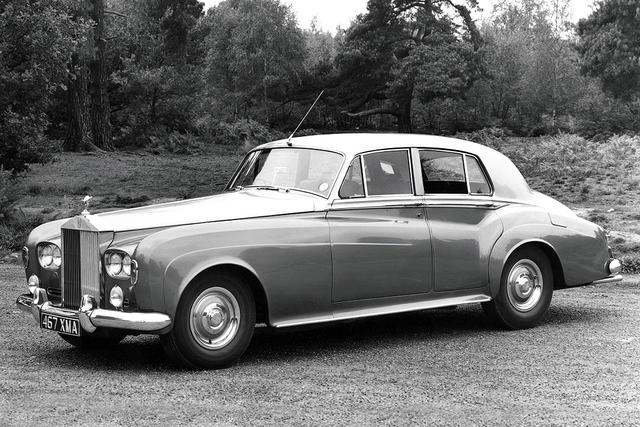 Rolls-Royce Silver Cloud I 1955 - 1958 Sedan #7