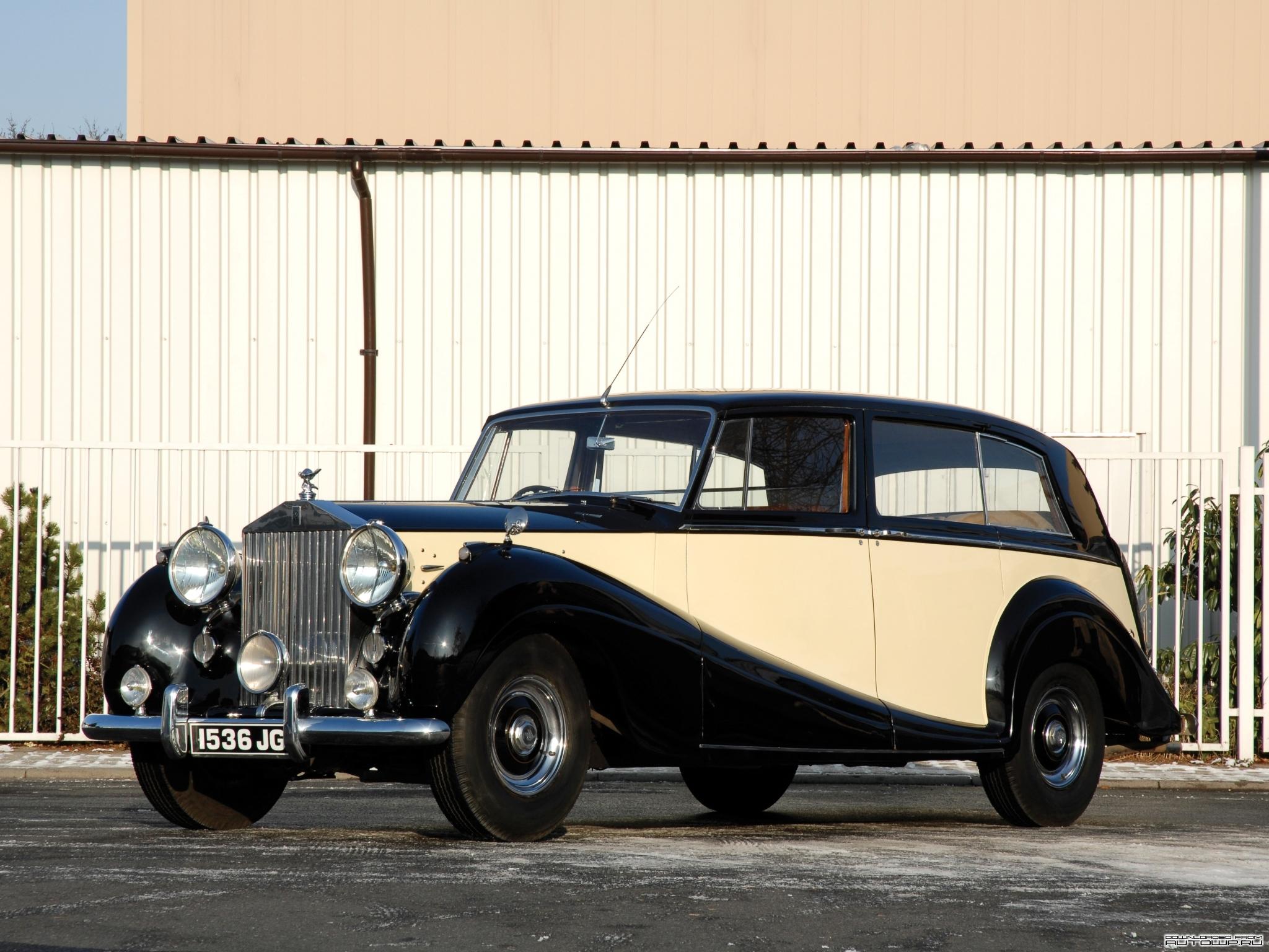 Rolls-Royce Silver Wraith 1946 - 1959 Sedan #4