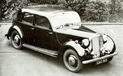 Rover 14 I 1933 - 1948 Sedan #1