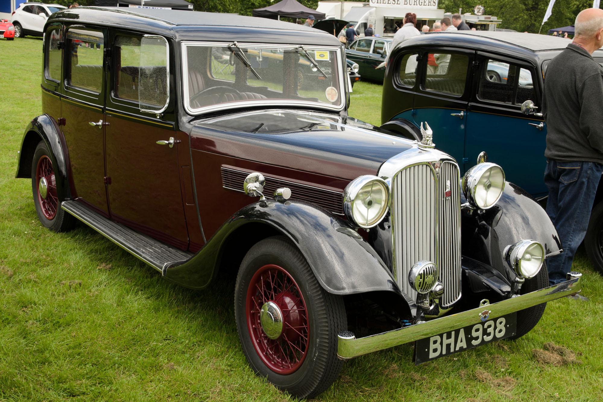 Rover 14 I 1933 - 1948 Sedan #6