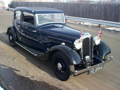 Rover 14 I 1933 - 1948 Sedan #5
