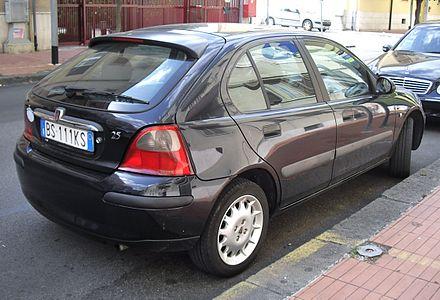 Rover 25 1999 - 2005 Hatchback 3 door #4