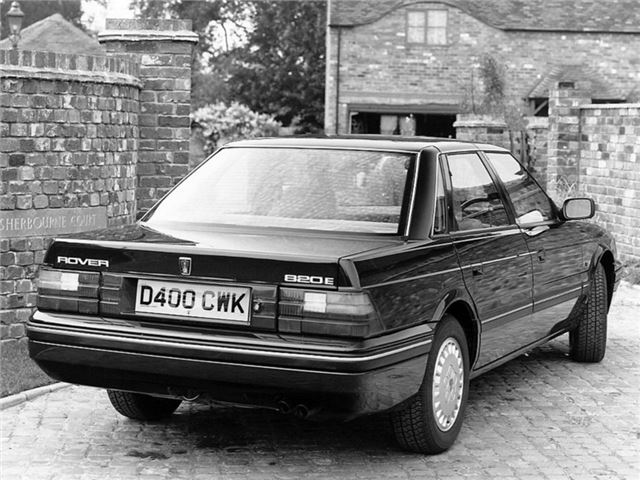 Rover 800 1986 - 1999 Coupe #4