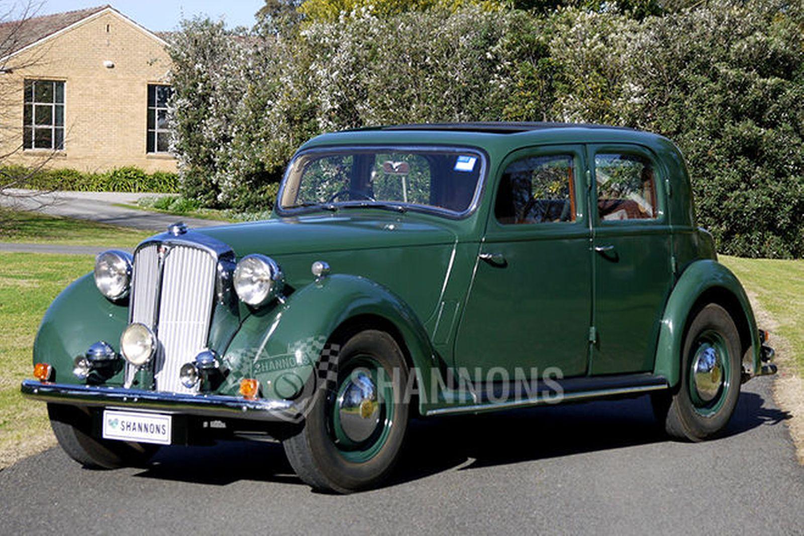 Rover P3 1948 - 1949 Sedan #4