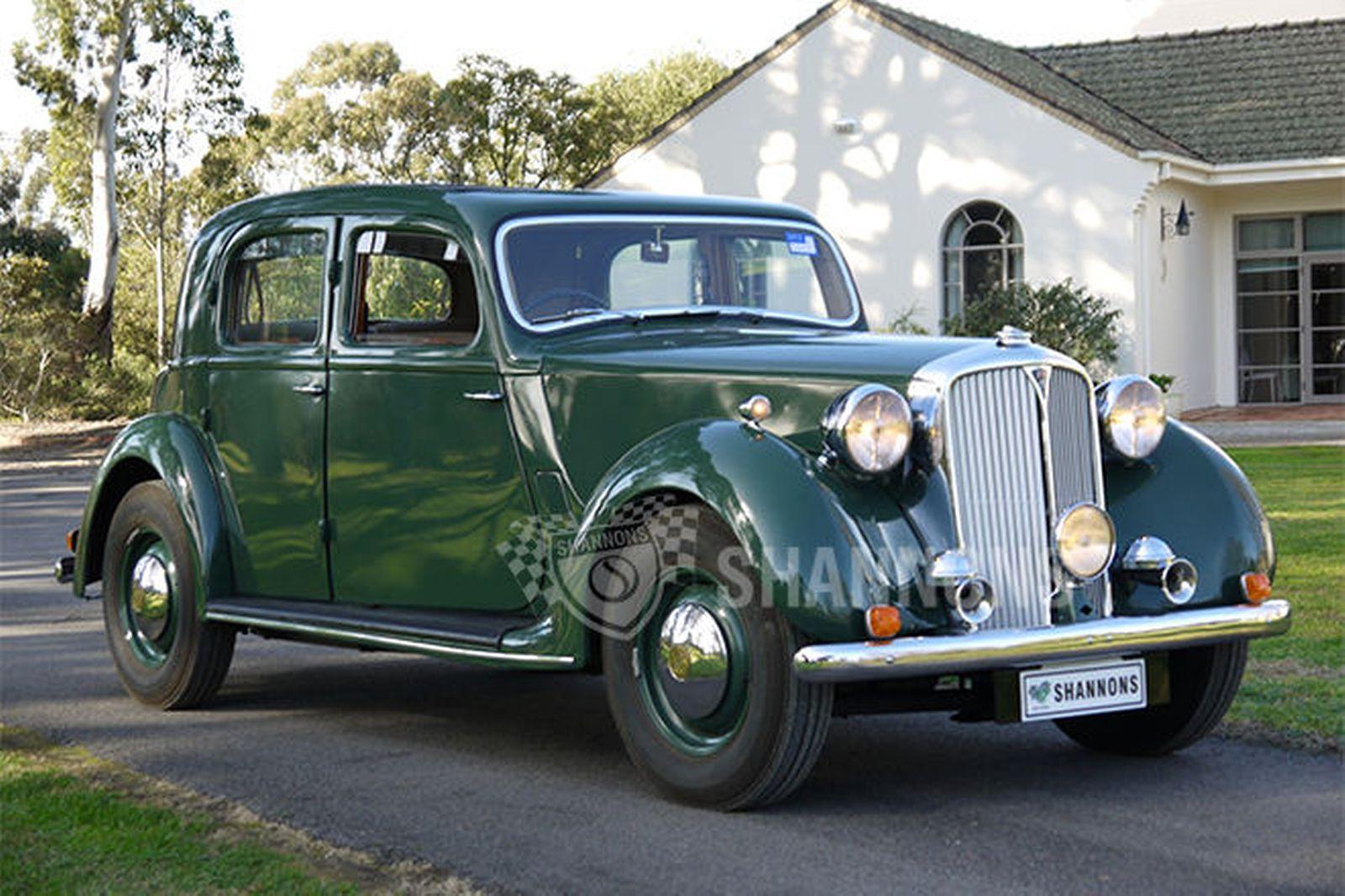Rover P3 1948 - 1949 Sedan #5