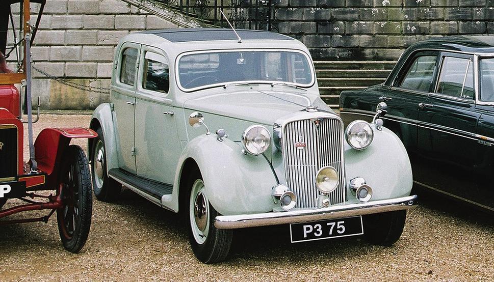 Rover P3 1948 - 1949 Sedan #6