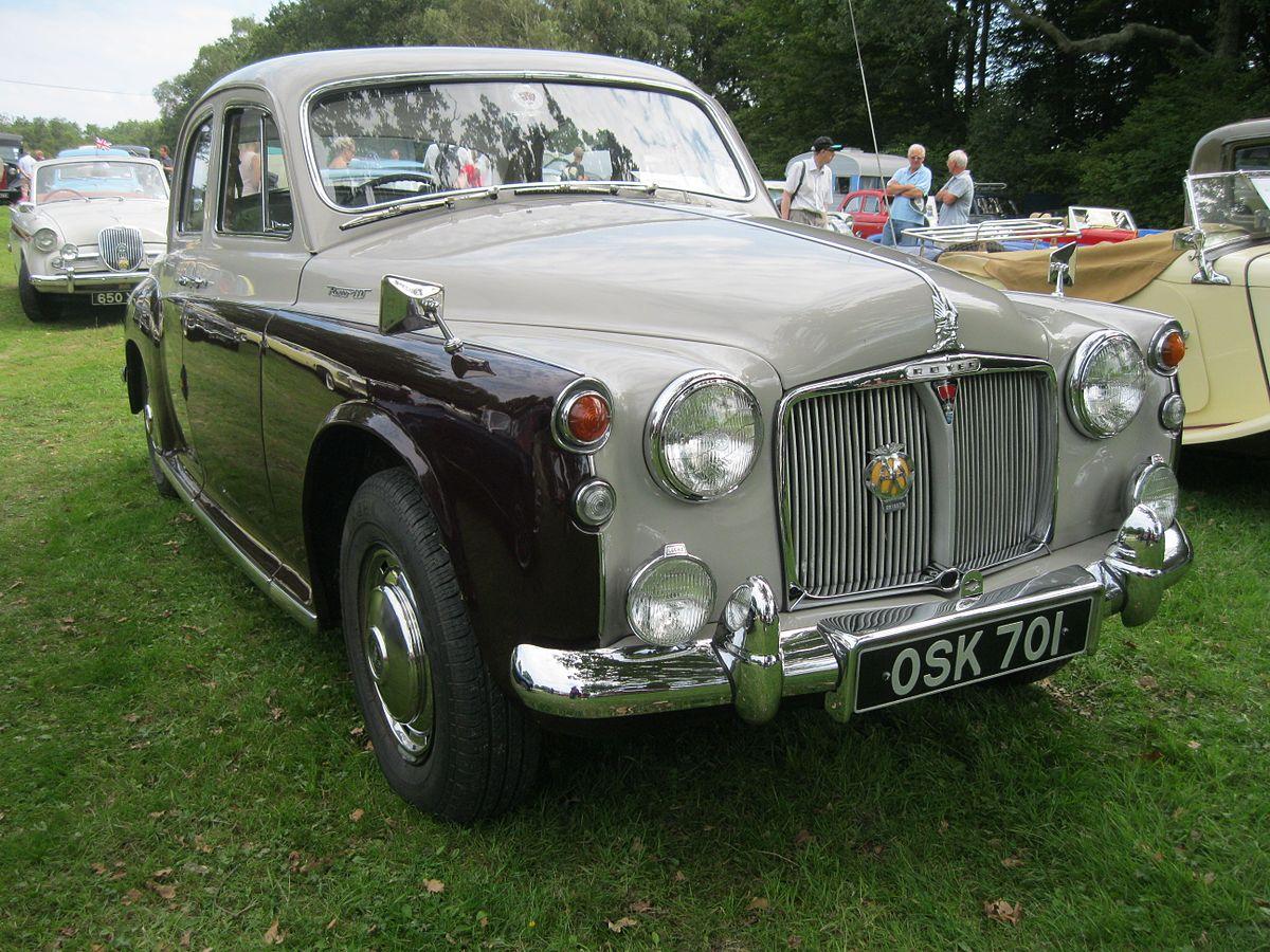 Rover P4 1949 - 1964 Sedan #8
