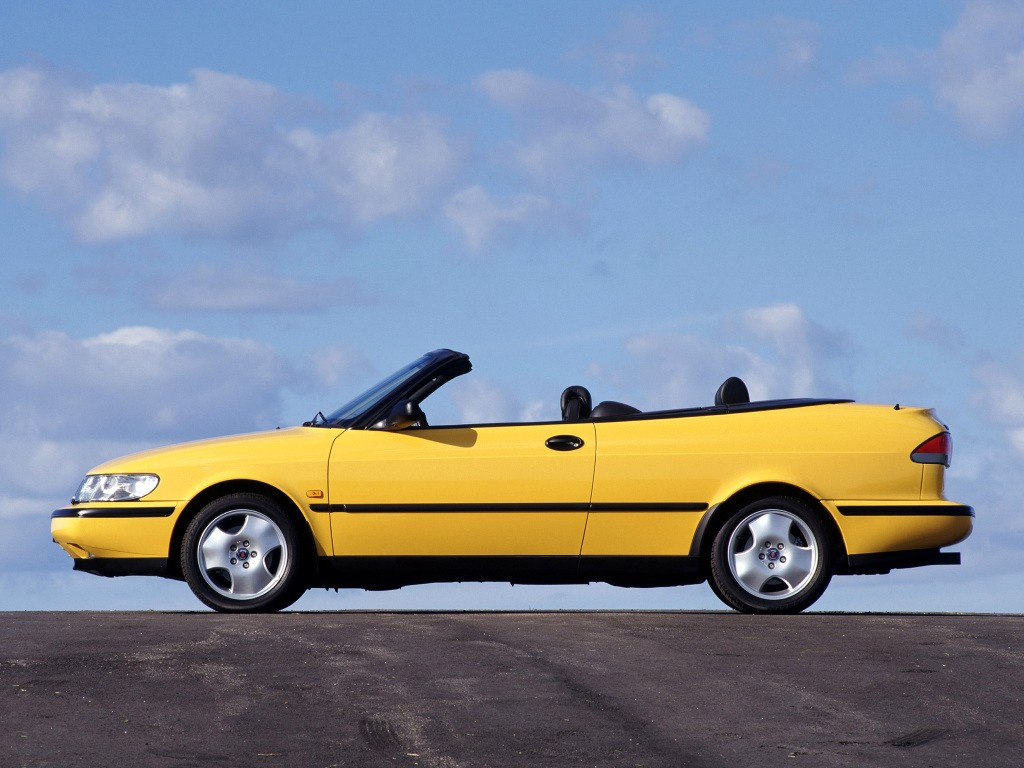 Saab 900 II 1993 - 1998 Cabriolet #4