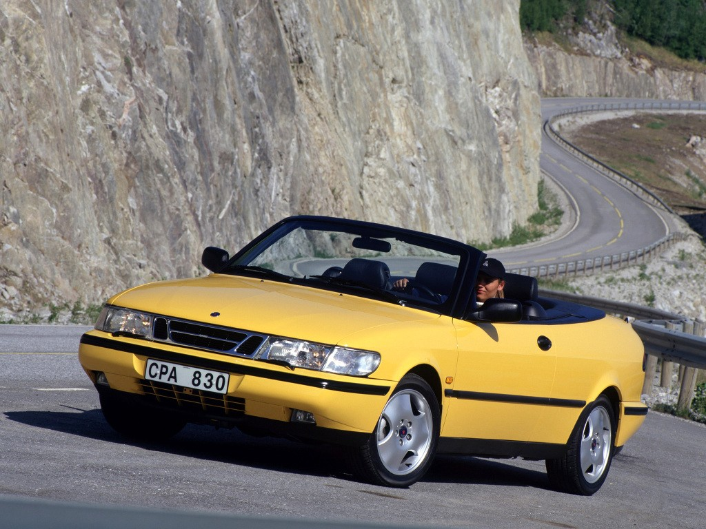 Saab 900 II 1993 - 1998 Cabriolet #3