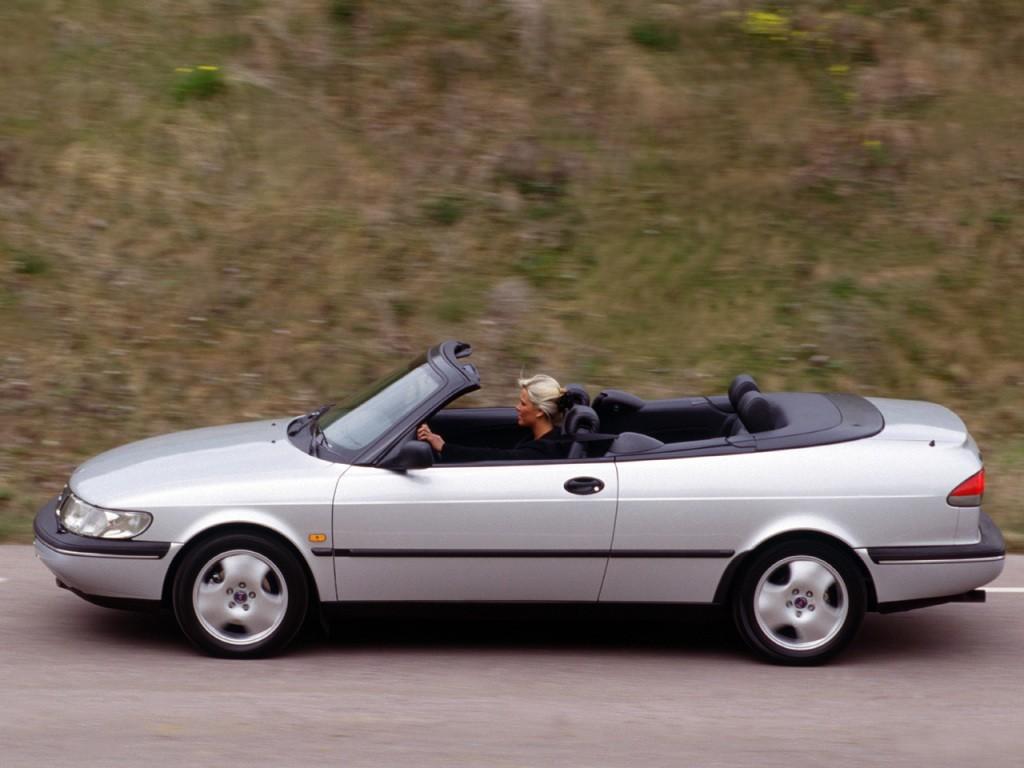 Saab 900 II 1993 - 1998 Cabriolet #2