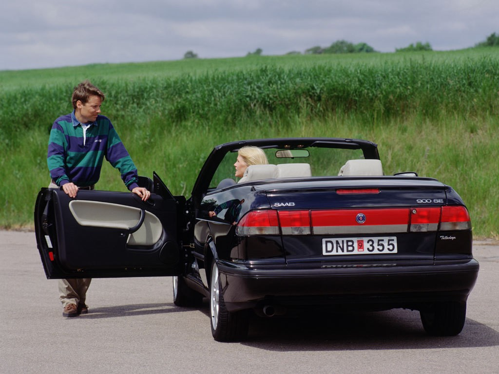 Saab 900 II 1993 - 1998 Cabriolet #5