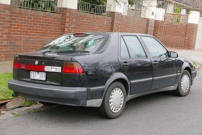 Saab 9000 1984 - 1994 Liftback #3