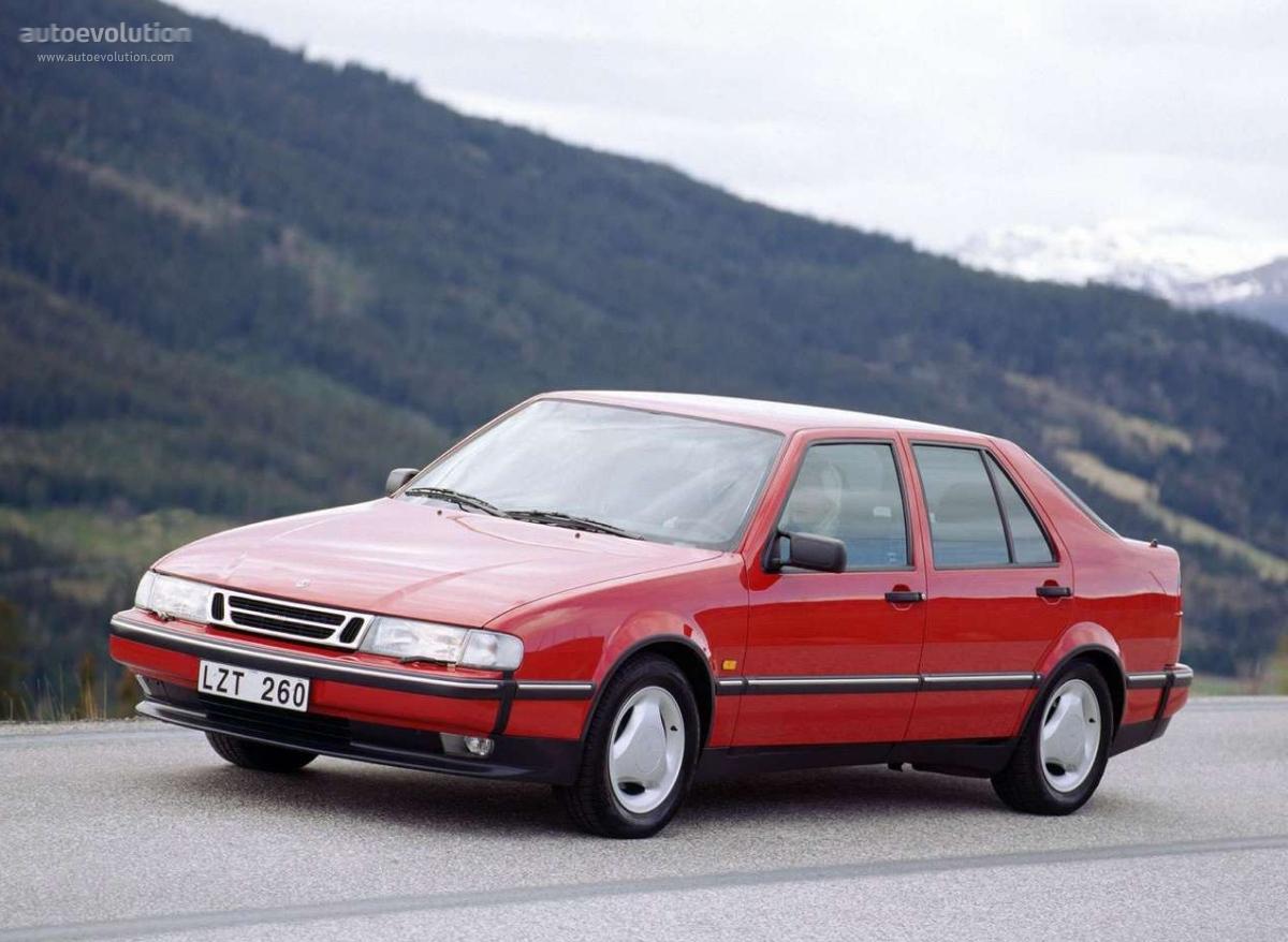 Saab 9000 1991 - 1998 Liftback #3