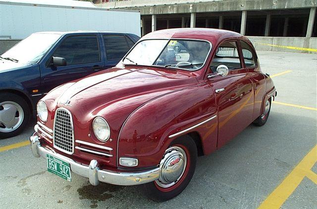Saab 93 1956 - 1960 Coupe #5
