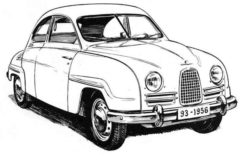 Saab 93 1956 - 1960 Coupe #4