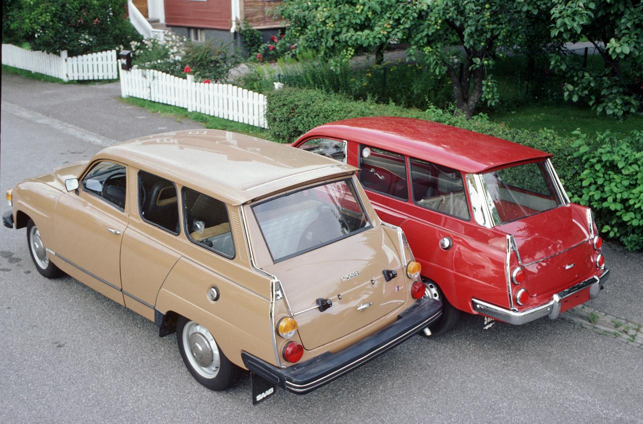 Saab 95 1959 - 1978 Station wagon 3 door #4