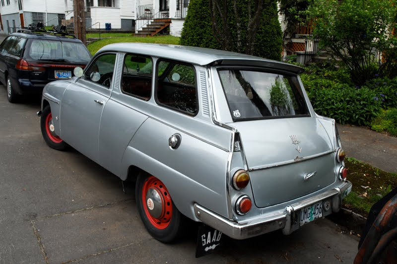 Saab 95 1959 - 1978 Station wagon 3 door #8