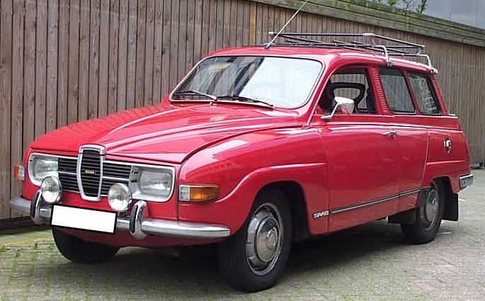 Saab 95 1959 - 1978 Station wagon 3 door #7