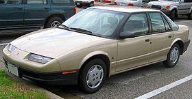 Saturn SL I 1990 - 1995 Sedan #3