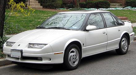 Saturn SL I 1990 - 1995 Sedan #4
