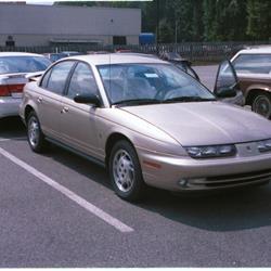 Saturn SL I 1990 - 1995 Sedan #2