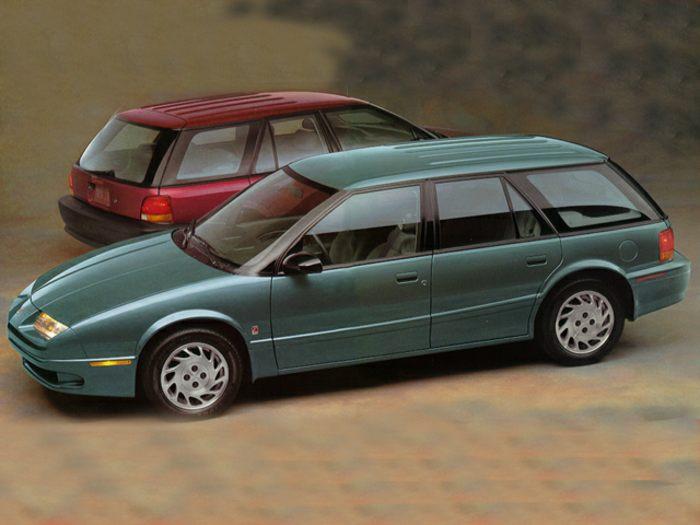 Saturn SW I 1993 - 1995 Station wagon 5 door #1