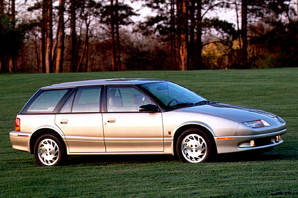 Saturn SW I 1993 - 1995 Station wagon 5 door #7