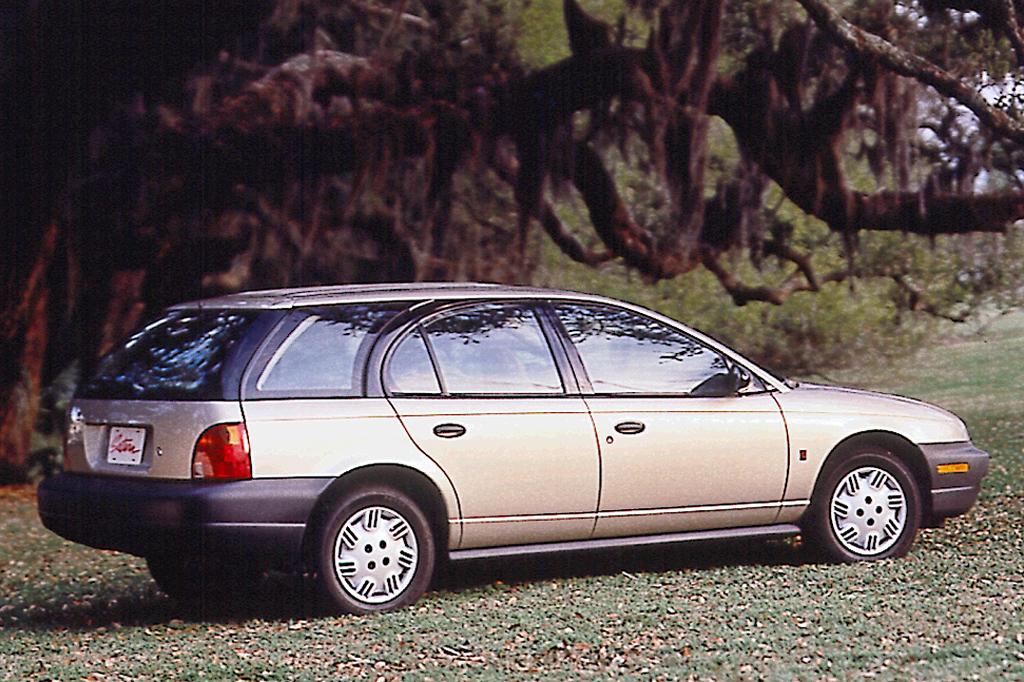 Saturn SW II 1996 - 1999 Station wagon 5 door #1