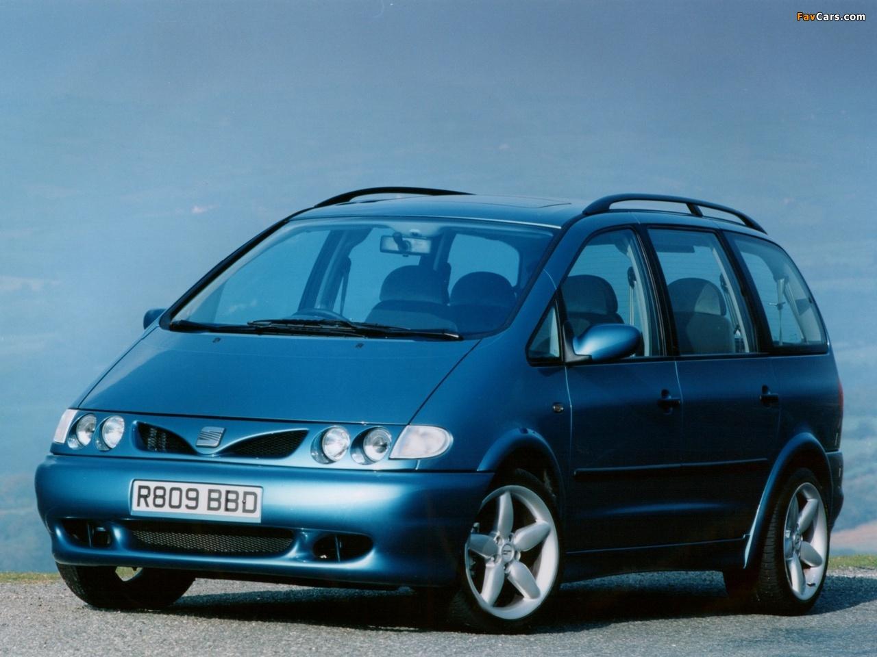 SEAT Alhambra I 1996 - 2000 Minivan #4