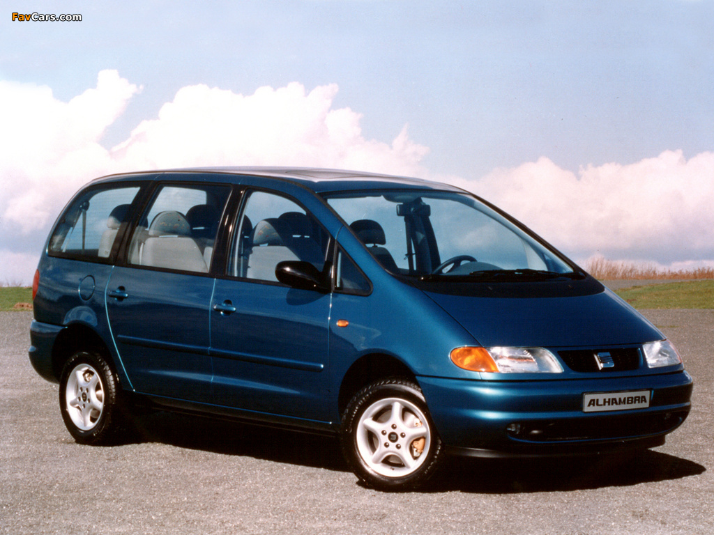 SEAT Alhambra I 1996 - 2000 Minivan #6